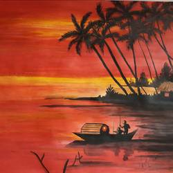 sunset nature painting, 11 x 14 inch, kiran chavan,landscape paintings,modern art paintings,portrait paintings,nature paintings,portraiture,paintings for dining room,paintings for living room,paintings for bedroom,paintings for office,paintings for hotel,paintings for school,paintings for hospital,paintings for dining room,paintings for living room,paintings for bedroom,paintings for office,paintings for hotel,paintings for school,paintings for hospital,drawing paper,poster color,watercolor,graphite pencil,11x14inch,GAL0732816310Nature,environment,Beauty,scenery,greenery