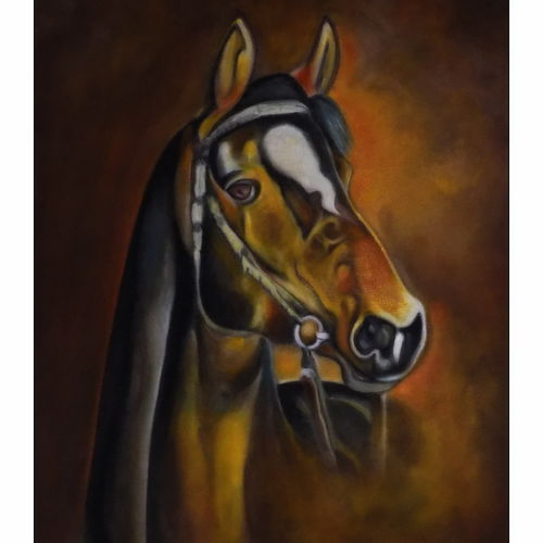 horse, 24 x 32 inch, paresh more,paintings,wildlife paintings,horse paintings,paintings for dining room,paintings for living room,paintings for bedroom,paintings for office,paintings for bathroom,paintings for hotel,paintings for dining room,paintings for living room,paintings for bedroom,paintings for office,paintings for bathroom,paintings for hotel,canvas,acrylic color,24x32inch,GAL099716332