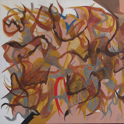 untitle-4, 50 x 26 inch, suryakant b.  tiwari,paintings,abstract paintings,canvas,acrylic color,50x26inch,GAL0736116340