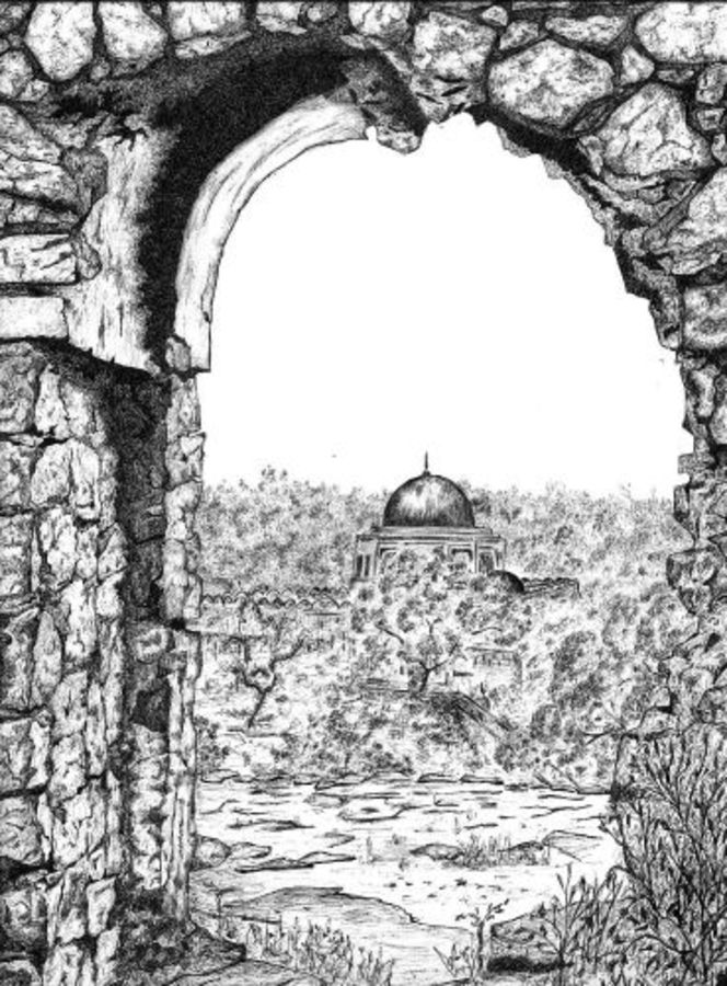 eternal, 11 x 14 inch, biju puthiyapurail,paintings for living room,conceptual drawings,drawings,fine art drawings,paintings for office,paintings for hotel,paintings for school,ivory sheet,ball point pen,11x14inch,GAL04741641