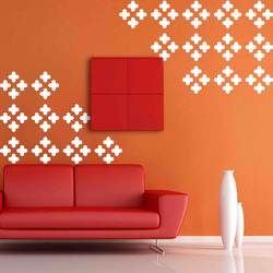wall stencil: trading stencil for wall design   , 1 stencil (size 12x12 inches) | reusable | diy, 12 x 12 inch, wall stencil designs,12x12inch,ohp plastic sheets,flower designs,plastic,GAL0116411,GAL0116411
