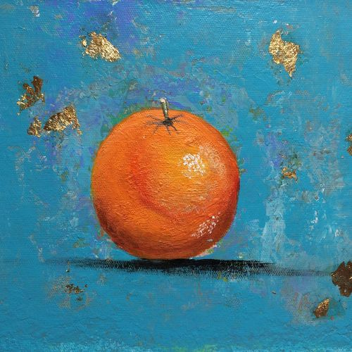 orange !! still life !! kitchen art, 12 x 8 inch, amita dand,paintings,still life paintings,photorealism paintings,paintings for dining room,paintings for hotel,paintings for kitchen,paintings for dining room,paintings for hotel,paintings for kitchen,canvas,acrylic color,12x8inch,GAL0146716477