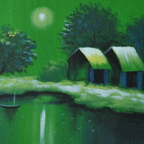 green land, 15 x 15 inch, dls  art gallery,paintings,landscape paintings,still life paintings,nature paintings,paintings for dining room,paintings for living room,paintings for bedroom,paintings for office,paintings for bathroom,paintings for kids room,paintings for hotel,paintings for kitchen,paintings for school,paintings for hospital,canvas,acrylic color,15x15inch,GAL0692616495Nature,environment,Beauty,scenery,greenery