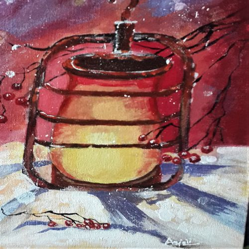 snowlamp, 10 x 12 inch, anjali p,paintings,abstract paintings,modern art paintings,paintings for dining room,paintings for living room,paintings for bedroom,paintings for office,paintings for kids room,paintings for hotel,paintings for school,paintings for dining room,paintings for living room,paintings for bedroom,paintings for office,paintings for kids room,paintings for hotel,paintings for school,canvas board,acrylic color,10x12inch,GAL0525216503