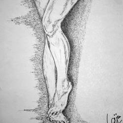 desire 08, 11 x 14 inch, biju puthiyapurail,figurative paintings,paintings for living room,figurative drawings,drawings,fine art drawings,paintings for bathroom,paintings for hotel,ivory sheet,ball point pen,11x14inch,GAL04741656