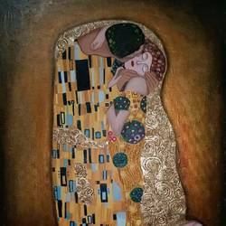remake of the kiss by gaustav klimt, 25 x 35 inch, malti mukhi,paintings,figurative paintings,conceptual paintings,cubist paintings,love paintings,paintings for dining room,paintings for living room,paintings for bedroom,paintings for hotel,paintings for kitchen,paintings for school,paintings for hospital,paintings for dining room,paintings for living room,paintings for bedroom,paintings for hotel,paintings for kitchen,paintings for school,paintings for hospital,canvas,mixed media,oil,25x35inch,GAL0579516564heart,family,caring,happiness,forever,happy,trust,passion,romance,sweet,kiss,love,hugs,warm,fun,kisses,joy,friendship,marriage,chocolate,husband,wife,forever,caring,couple,sweetheart