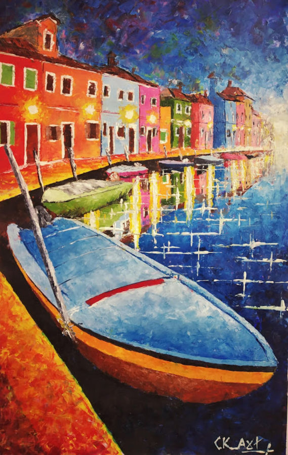 beauty of venice , 14 x 22 inch, chandrakesh  singh,paintings,abstract paintings,cityscape paintings,nature paintings,illustration paintings,street art,realistic paintings,paintings for dining room,paintings for living room,paintings for bedroom,paintings for office,paintings for bathroom,paintings for kids room,paintings for hotel,paintings for kitchen,paintings for school,paintings for hospital,thick paper,acrylic color,oil,14x22inch,GAL0705616609Nature,environment,Beauty,scenery,greenery