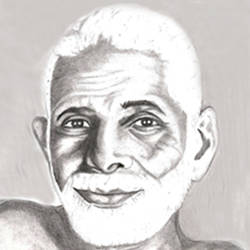ramana maharshi, 8 x 10 inch, shivkumar  menon,drawings,portrait drawings,paintings for living room,thick paper,graphite pencil,8x10inch,GAL098616632