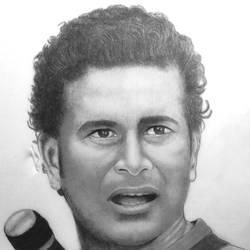 sachin tendulkar, 11 x 15 inch, shivkumar  menon,drawings,portrait drawings,paintings for living room,thick paper,graphite pencil,11x15inch,GAL098616634
