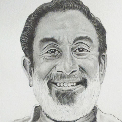 shivaji ganeshan, 8 x 10 inch, shivkumar  menon,drawings,paintings for living room,portrait drawings,paintings for living room,thick paper,graphite pencil,8x10inch,GAL098616636