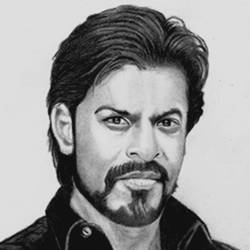 shah rukh khan, 8 x 10 inch, shivkumar  menon,drawings,portrait drawings,paintings for living room,thick paper,graphite pencil,8x10inch,GAL098616638