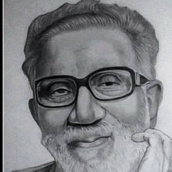 bal thackerey, 10 x 15 inch, shivkumar  menon,drawings,portrait drawings,paintings for living room,thick paper,graphite pencil,10x15inch,GAL098616644