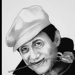 devanand, 7 x 11 inch, shivkumar  menon,drawings,portrait drawings,paintings for living room,thick paper,graphite pencil,7x11inch,GAL098616648