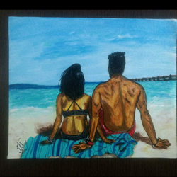 we've decided on forever, 12 x 10 inch, iti trehan,paintings,photorealism paintings,love paintings,paintings for living room,paintings for bedroom,paintings for office,paintings for hotel,canvas,acrylic color,12x10inch,GAL0366516684heart,family,caring,happiness,forever,happy,trust,passion,romance,sweet,kiss,love,hugs,warm,fun,kisses,joy,friendship,marriage,chocolate,husband,wife,forever,caring,couple,sweetheart