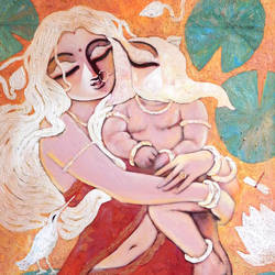 parvatinandan, 24 x 34 inch, subrata ghosh,paintings,figurative paintings,contemporary paintings,love paintings,baby paintings,children paintings,kids paintings,paintings for dining room,paintings for living room,paintings for bedroom,paintings for office,paintings for hotel,canvas,acrylic color,24x34inch,GAL040216719heart,family,caring,happiness,forever,happy,trust,passion,romance,sweet,kiss,love,hugs,warm,fun,kisses,joy,friendship,marriage,chocolate,husband,wife,forever,caring,couple,sweetheart