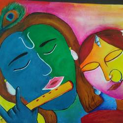 radha krishna , 21 x 15 inch, nikita sonika,paintings for dining room,radha krishna paintings,love paintings,thick paper,acrylic color,21x15inch,GAL057168heart,family,caring,happiness,forever,happy,trust,passion,romance,sweet,kiss,love,hugs,warm,fun,kisses,joy,friendship,marriage,chocolate,husband,wife,forever,caring,couple,sweetheart