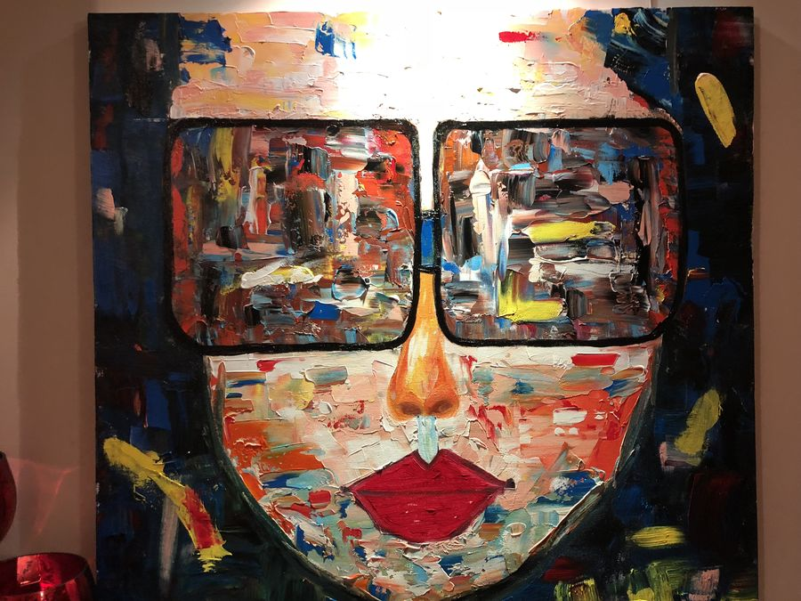 pop face, 34 x 34 inch, neha bindra,paintings,abstract paintings,paintings for dining room,paintings for living room,paintings for bedroom,paintings for dining room,paintings for living room,paintings for bedroom,canvas,acrylic color,34x34inch,GAL0724616868