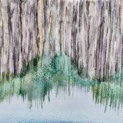 the woods, 8 x 6 inch, jalpa chauhan,paintings,abstract paintings,nature paintings,paintings for dining room,paintings for living room,paintings for office,paintings for bathroom,paintings for hotel,brustro watercolor paper,watercolor,8x6inch,GAL0669716888Nature,environment,Beauty,scenery,greenery