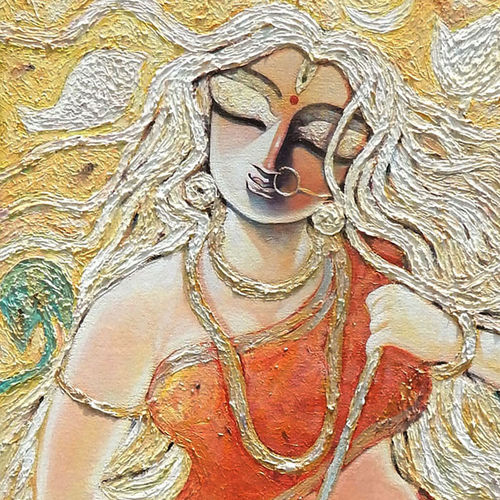 krrooraa, 20 x 36 inch, subrata ghosh,paintings,figurative paintings,landscape paintings,contemporary paintings,paintings for dining room,paintings for living room,paintings for bedroom,paintings for office,paintings for hotel,canvas,acrylic color,20x36inch,GAL040216907