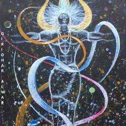 shiva taking the ganga on his head, 8 x 12 inch, giridhar alwar,paintings,abstract paintings,conceptual paintings,religious paintings,lord shiva paintings,paintings for living room,paintings for bedroom,paintings for office,paintings for kids room,paintings for hotel,paintings for school,paintings for living room,paintings for bedroom,paintings for office,paintings for kids room,paintings for hotel,paintings for school,thick paper,acrylic color,8x12inch,GAL0740816935