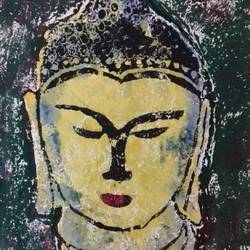 budhha, 10 x 16 inch, r. d.,buddha paintings,paintings for dining room,paintings for living room,paintings for bedroom,paintings for office,paintings for kids room,paintings for hotel,paintings for school,paintings for hospital,paintings for dining room,paintings for living room,paintings for bedroom,paintings for office,paintings for kids room,paintings for hotel,paintings for school,paintings for hospital,oil sheet,wood cut,10x16inch,religious,peace,meditation,meditating,gautam,goutam,buddha,lord,black,brown,face,wood cut,GAL0755317025