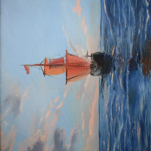 sailing ship, 24 x 20 inch, divya chauhan,paintings,landscape paintings,nature paintings,art deco paintings,paintings for dining room,paintings for living room,paintings for office,paintings for kids room,paintings for hotel,paintings for school,paintings for hospital,paintings for dining room,paintings for living room,paintings for office,paintings for kids room,paintings for hotel,paintings for school,paintings for hospital,canvas,oil,24x20inch,GAL0762717050Nature,environment,Beauty,scenery,greenery