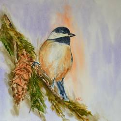 birds, 15 x 11 inch, ram mohan e,paintings,wildlife paintings,nature paintings,animal paintings,paintings for living room,paintings for kids room,paintings for school,fabriano sheet,watercolor,15x11inch,GAL069717151Nature,environment,Beauty,scenery,greenery