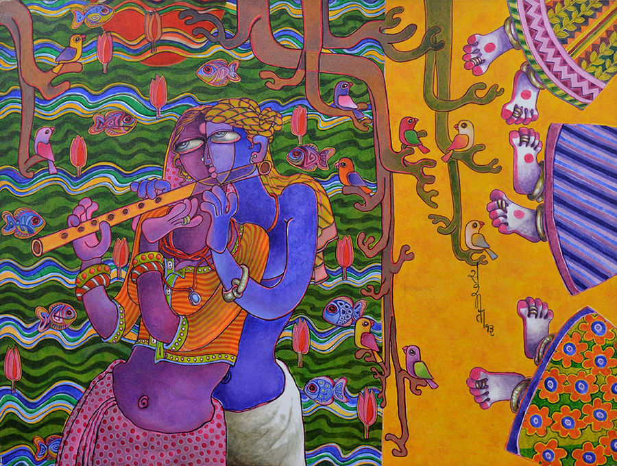 love, 36 x 48 inch, sunita dinda,figurative paintings,paintings for bedroom,love paintings,radha krishna paintings,canvas,acrylic color,36x48inch,GAL06951733heart,family,caring,happiness,forever,happy,trust,passion,romance,sweet,kiss,love,hugs,warm,fun,kisses,joy,friendship,marriage,chocolate,husband,wife,forever,caring,couple,sweetheart