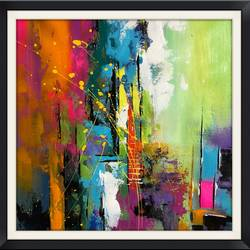 color lane, 12 x 12 inch, anjali patel,paintings,abstract paintings,paintings for dining room,paintings for living room,paintings for bedroom,paintings for office,paintings for kids room,paintings for hotel,paintings for school,canvas,acrylic color,12x12inch,GAL0801117338