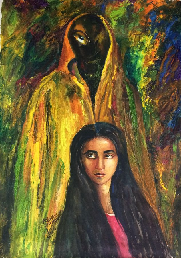 when i was young.., 20 x 29 inch, aloke  dutta,paintings,figurative paintings,portrait paintings,paintings for dining room,paintings for living room,paintings for bedroom,paintings for office,paintings for hotel,paintings for dining room,paintings for living room,paintings for bedroom,paintings for office,paintings for hotel,handmade paper,watercolor,20x29inch,GAL0767917399