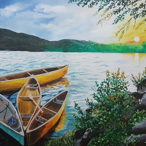 boat trip, 16 x 12 inch, huma firdaus,paintings,landscape paintings,modern art paintings,still life paintings,nature paintings,illustration paintings,minimalist paintings,realism paintings,love paintings,paintings for dining room,paintings for living room,paintings for bedroom,paintings for office,paintings for kids room,paintings for hotel,paintings for kitchen,paintings for school,paintings for hospital,paintings for dining room,paintings for living room,paintings for bedroom,paintings for office,paintings for kids room,paintings for hotel,paintings for kitchen,paintings for school,paintings for hospital,canvas,oil,16x12inch,GAL0607917432Nature,environment,Beauty,scenery,greenery