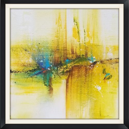 hope , 48 x 48 inch, anjali patel,paintings,abstract paintings,canvas,acrylic color,48x48inch,GAL0801117437