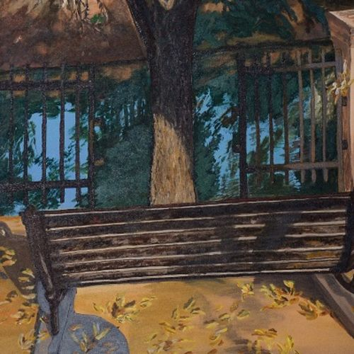 solitary breeze, 18 x 24 inch, jyoti gupta,cityscape paintings,nature paintings,canvas,oil,18x24inch,GAL0782817478Nature,environment,Beauty,scenery,greenery