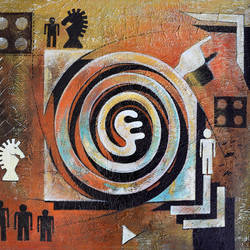 untitled_04, 32 x 28 inch, mithu biswas,paintings,abstract paintings,modern art paintings,conceptual paintings,abstract expressionist paintings,contemporary paintings,paintings for dining room,paintings for living room,paintings for bedroom,paintings for office,paintings for bathroom,paintings for hotel,canvas,acrylic color,32x28inch,GAL0673517506
