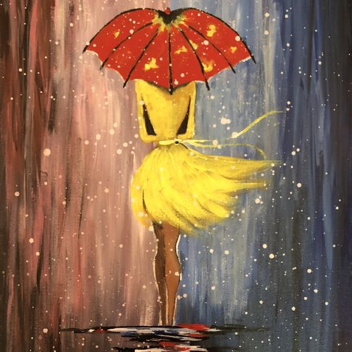 girl in the rain, 24 x 18 inch, preet kamal,paintings,conceptual paintings,paintings for dining room,paintings for living room,paintings for bedroom,paintings for office,paintings for dining room,paintings for living room,paintings for bedroom,paintings for office,canvas,acrylic color,24x18inch,GAL0811417650