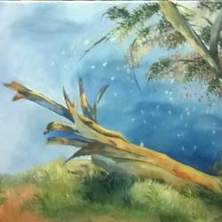landscaoe, 24 x 36 inch, vaishali  verma ,paintings,nature paintings,paintings for living room,paintings for hospital,canvas,oil,24x36inch,GAL0789717720Nature,environment,Beauty,scenery,greenery