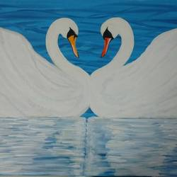abode of love and peace, 36 x 24 inch, j.k  chhatwal,nature paintings,canvas,acrylic color,36x24inch,GAL0537817769Nature,environment,Beauty,scenery,greenery