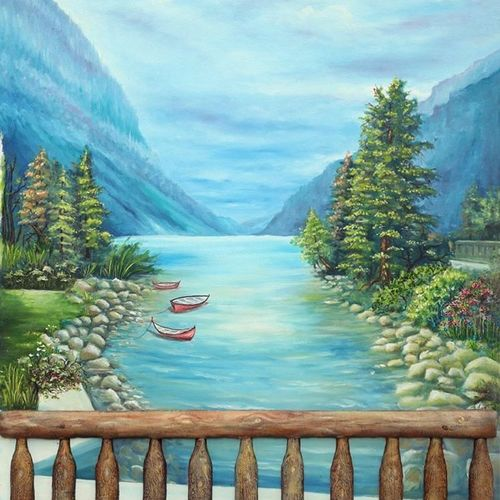 serene, 25 x 40 inch, sigo  aarts,paintings,landscape paintings,nature paintings,photorealism paintings,photorealism,realism paintings,realistic paintings,paintings for dining room,paintings for living room,paintings for bedroom,paintings for office,paintings for hotel,paintings for kitchen,paintings for school,paintings for hospital,canvas,oil,25x40inch,GAL0836317824Nature,environment,Beauty,scenery,greenery
