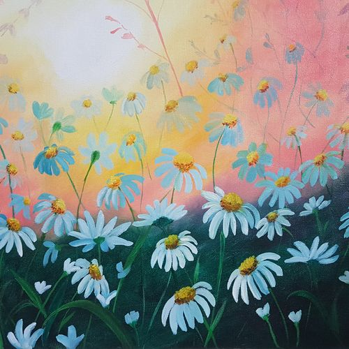 flower bed, 16 x 14 inch, huma firdaus,paintings,wildlife paintings,flower paintings,landscape paintings,modern art paintings,conceptual paintings,still life paintings,nature paintings,realistic paintings,love paintings,paintings for dining room,paintings for living room,paintings for bedroom,paintings for office,paintings for bathroom,paintings for kids room,paintings for hotel,paintings for kitchen,paintings for school,paintings for hospital,canvas,oil,16x14inch,GAL0607917916heart,family,caring,happiness,forever,happy,trust,passion,romance,sweet,kiss,love,hugs,warm,fun,kisses,joy,friendship,marriage,chocolate,husband,wife,forever,caring,couple,sweetheartNature,environment,Beauty,scenery,greenery