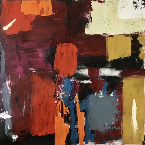 abstract, 15 x 15 inch, nisha agarwal,paintings,abstract paintings,conceptual paintings,paintings for dining room,paintings for living room,paintings for bedroom,paintings for office,paintings for hotel,paintings for kitchen,canvas,acrylic color,15x15inch,GAL0203717934