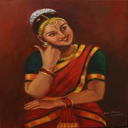 yasodha mother of krishna, 18 x 24 inch, asha shenoy,paintings,figurative paintings,religious paintings,realism paintings,radha krishna paintings,realistic paintings,love paintings,paintings for dining room,paintings for living room,paintings for bedroom,paintings for office,paintings for hotel,paintings for school,canvas,oil,18x24inch,GAL0865217947heart,family,caring,happiness,forever,happy,trust,passion,romance,sweet,kiss,love,hugs,warm,fun,kisses,joy,friendship,marriage,chocolate,husband,wife,forever,caring,couple,sweetheart