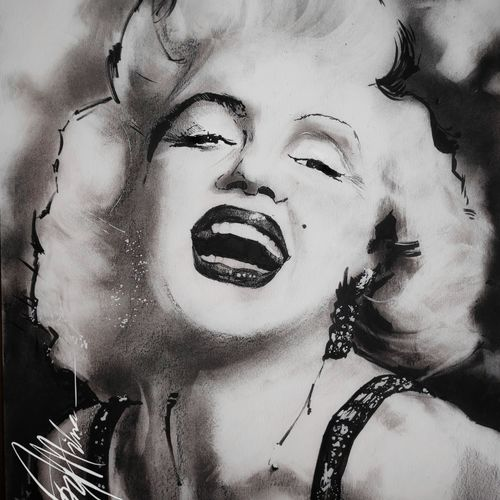 pop art- of marilyn...in ink, charcoal and pencils..., 12 x 17 inch, joydeep mitra,drawings,abstract drawings,abstract expressionist drawings,conceptual drawings,expressionist drawings,fine art drawings,graffiti drawings,impressionist drawings,modern drawings,realism drawings,kids drawings,paintings for dining room,paintings for living room,paintings for bedroom,paintings for office,paintings for bathroom,fabriano sheet,charcoal,ink color,pen color,photo ink,12x17inch,GAL0768317997