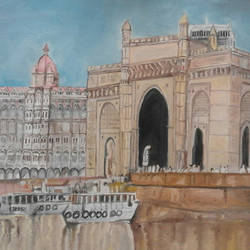 gateway of india-mumbai, 30 x 24 inch, amit kumar sinha,paintings,landscape paintings,paintings for dining room,paintings for living room,paintings for bedroom,paintings for office,paintings for bathroom,paintings for kids room,paintings for hotel,paintings for kitchen,paintings for school,paintings for hospital,paintings for dining room,paintings for living room,paintings for bedroom,paintings for office,paintings for bathroom,paintings for kids room,paintings for hotel,paintings for kitchen,paintings for school,paintings for hospital,canvas,oil,30x24inch,GAL0691317998