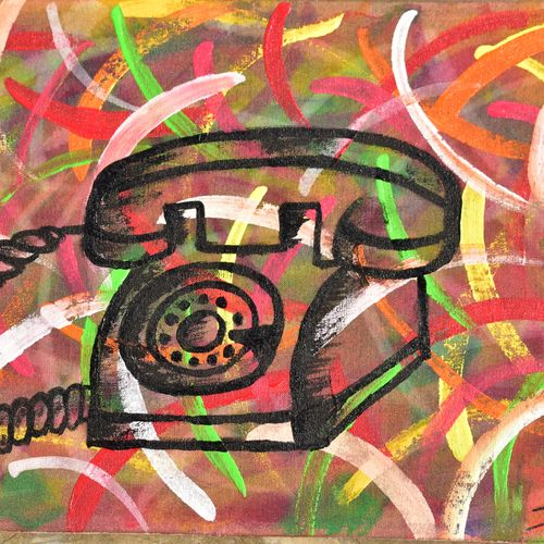 90's connectivity, 12 x 8 inch, susree saswati nayak,paintings,abstract paintings,paintings for dining room,paintings for living room,paintings for bedroom,paintings for office,paintings for bathroom,paintings for kids room,paintings for hotel,paintings for kitchen,paintings for school,paintings for hospital,canvas,acrylic color,12x8inch,GAL0866918025