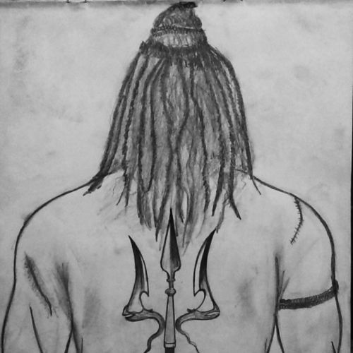 shiva, 11 x 13 inch, prashant sonavane,paintings,lord shiva paintings,paintings for dining room,paintings for living room,paintings for bedroom,paintings for office,paintings for kids room,paintings for hotel,paintings for kitchen,paintings for school,paintings for hospital,drawing paper,graphite pencil,11x13inch,GAL0753018091