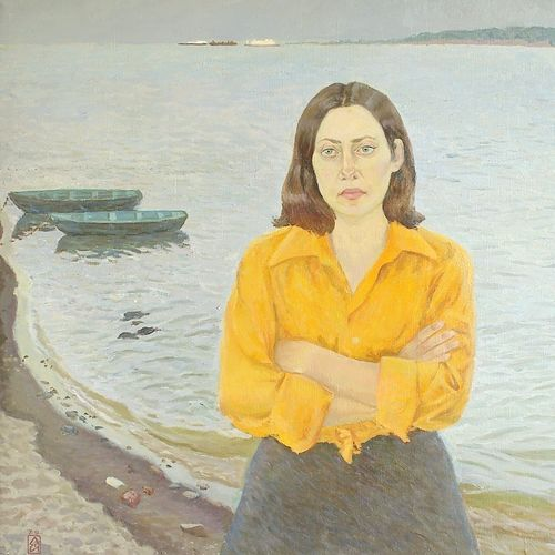 volzhanka, 39 x 47 inch, moesey li,portrait paintings,paintings for living room,paintings,canvas,oil paint,39x47inch,GAL07181812