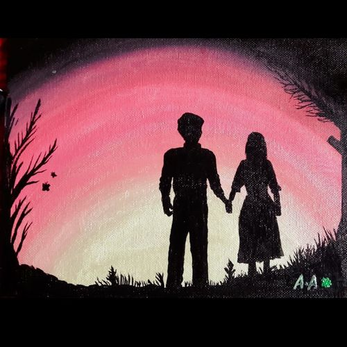 love at bloom, 10 x 8 inch, preethi prem,paintings,figurative paintings,landscape paintings,modern art paintings,contemporary paintings,realistic paintings,love paintings,paintings for dining room,paintings for living room,paintings for bedroom,paintings for office,paintings for hotel,canvas,acrylic color,fabric,10x8inch,GAL0904818299heart,family,caring,happiness,forever,happy,trust,passion,romance,sweet,kiss,love,hugs,warm,fun,kisses,joy,friendship,marriage,chocolate,husband,wife,forever,caring,couple,sweetheart