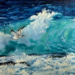 seascape, 27 x 19 inch, kunal pal,paintings,wildlife paintings,landscape paintings,modern art paintings,nature paintings,abstract expressionist paintings,art deco paintings,expressionist paintings,impressionist paintings,photorealism,pop art paintings,realism paintings,animal paintings,realistic paintings,water fountain paintings,paintings for dining room,paintings for living room,paintings for bedroom,paintings for office,paintings for bathroom,paintings for kids room,paintings for hotel,paintings for kitchen,paintings for school,paintings for hospital,canvas,oil,27x19inch,GAL0905418354Nature,environment,Beauty,scenery,greenery