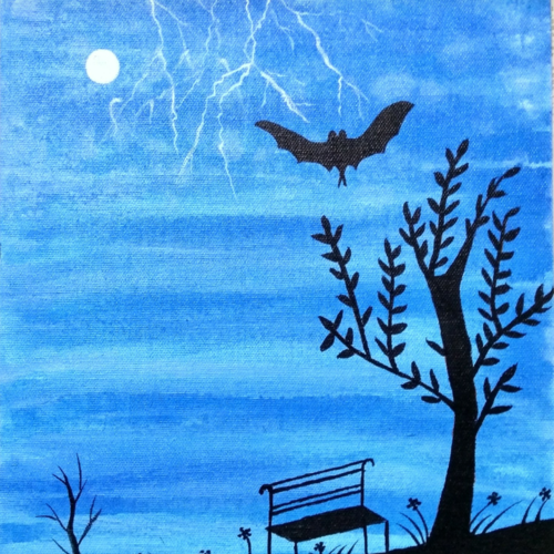 landscape, 12 x 10 inch, geeta kwatra,paintings,landscape paintings,canvas,acrylic color,12x10inch,GAL0899118373