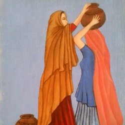 helping hand, 12 x 16 inch, abhineet sharma,paintings,figurative paintings,paintings for dining room,paintings for living room,paintings for bedroom,paintings for office,paintings for hotel,paintings for kitchen,paintings for school,paintings for hospital,paintings for dining room,paintings for living room,paintings for bedroom,paintings for office,paintings for hotel,paintings for kitchen,paintings for school,paintings for hospital,hardboard,oil,12x16inch,GAL0873818435